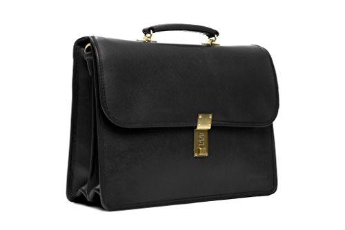 korchmar-lux-elliot-leather-flapover-briefcase-f1228-black