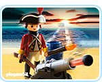 ard with Cannon (Playmobil Guard)