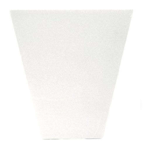 Vinyl Flat Panel Window Header Keystone in Bright White (6.0625 in. W x 3 in. D x 6.375 in. H (0.254 lbs.))