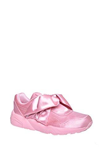 1aa18f8beefe PUMA Women s Bow Sneaker Fenty by Rihanna Silver Pink Silver Pink Silver  Pink Athletic