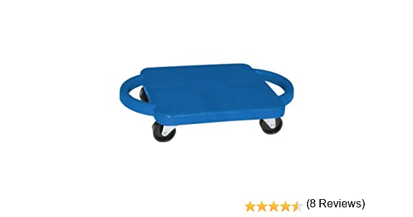"Amazon.com: Fun and Function Plastic Scooter Board with Handles 12"", Blue: Toys & Games"