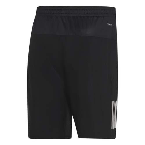 adidas Men's Club 3-Stripes 9-Inch Tennis Shorts, Black/White, X-Small by adidas (Image #6)