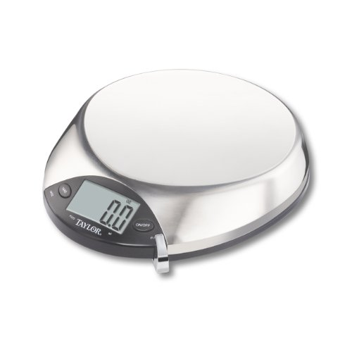 Salter Stainless Steel Electronic Kitchen Scale - 11 oz / 5