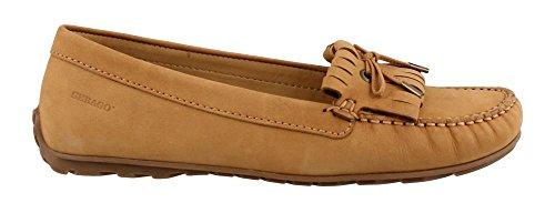 Sebago Women's Harper Kiltie Tie Loafer,Tan Nubuck,US 8 M (Tan Shoes Sebago)