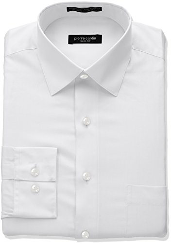 pierre-cardin-mens-slim-fit-solid-broadcloth-semi-spread-collar-shirt-white-16-165-neck-32-33-sleeve