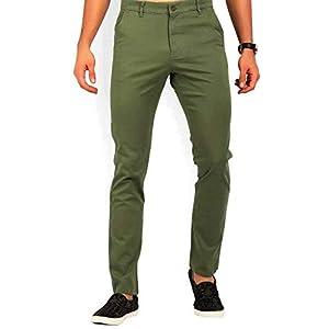Americanchoice Men's Regular Fit Casual Trouser