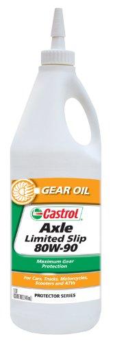 Castrol 12612-12PK Axle Limited Slip 80W-90 Gear Oil - 1 Quart, (Pack of 12)