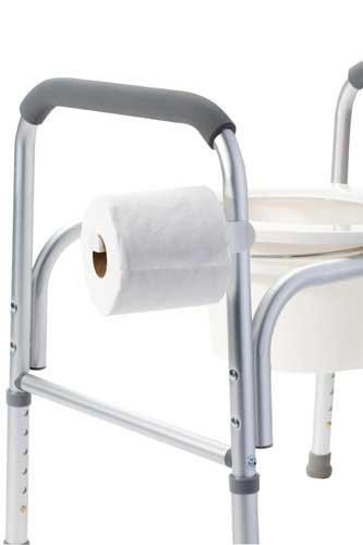 Amazon.com: Universal Toilet Paper Holder For Commodes: Health ...