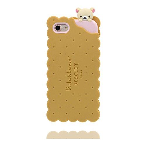 """iPhone 6 (4.7"""") Coque, [ de matériau TPU souple élégant durable ours, bear ] iPhone 6s étui (4.7 pouces), poussière glissement résistant aux rayures, iPhone 6 (4.7"""") Case & ring Support de téléphone"""