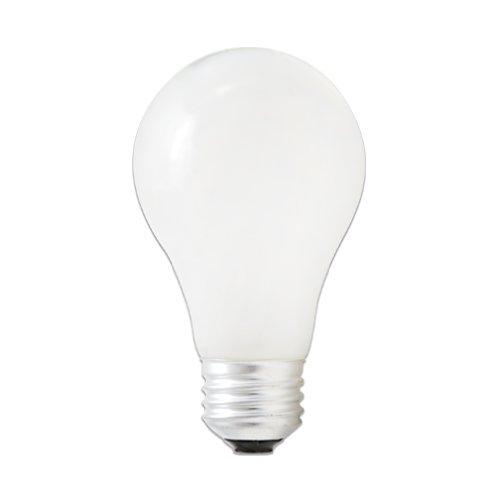 Bulbrite 72A19SW/ECO Eco-Friendly Halogen 72W A19, Soft White, 2-Pack