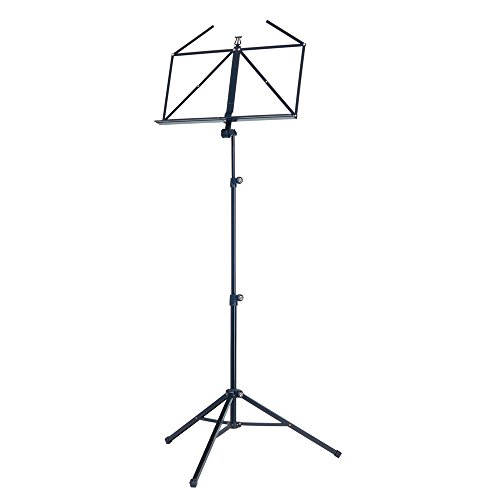 K & M Heavy Duty Music Stand Regular Black