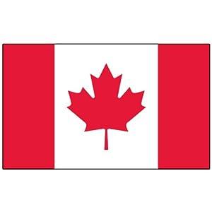 Amazoncom Fox Outdoor Canadian Polyester Flag 3x5Feet Sports