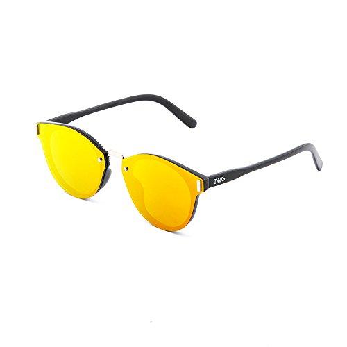 KANDINSKY sol espejo Naranja hombre mujer Negro TWIG de Gafas degradadas 5tIqvZw