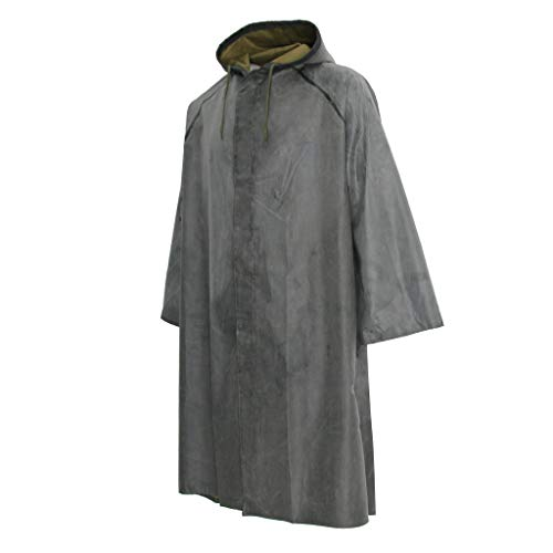 Baosity Rubber Raincoat Labor Protection Raincoat Thicken Canvas Poncho Cloth by Baosity (Image #6)