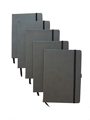 ImpecGear Classic Notebook/Writing Journal 5.5 x 8.25 Black
