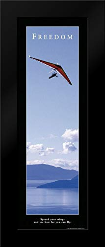 Freedom - Hang Glider Framed Art Print by Frontline