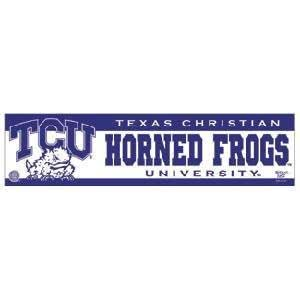 Tcu Horned Frogs Bumper Sticker