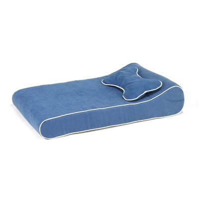 Contour Lounger Dog Bed in Blueberry (Lounger Bowsers Contour)
