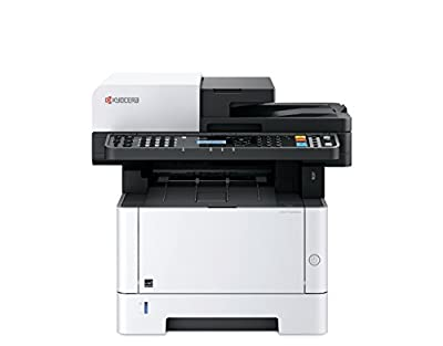 Kyocera 1102S42US0 ECOSYS M2540dw Black & White Multifunctional Laser Printer (Print/Color Scan/Copy/Fax), 42 ppm B&W, Print Resolution 600 x 600 dpi Up to Fine 1200 dpi, Stackless Duplex Supports
