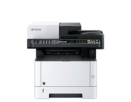 Kyocera 1102S42US0 ECOSYS M2540dw Black & White Multifunctional Laser Printer (Print/Color Scan/Copy/Fax), 42 ppm B&W, Print Resolution 600 x 600 dpi Up to Fine 1200 dpi, Stackless Duplex Supports by Kyocera