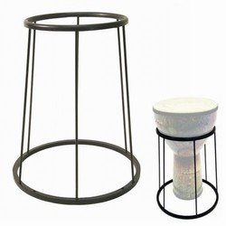 REMO Lightweight Djembe Floor Stand, Black, Fits All Size Djembes ()
