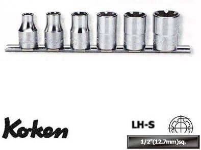 コーケン 1/2(12.7mm)SQ. LHSソケットレールセット RS4400LH/6