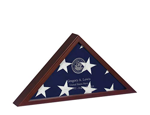 Buy military shadow box two flags