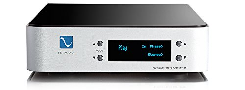 PS Audio NuWave Phono Converter - High End Phono Preamplifier and Analog to Digital Converter (Silver) by PS Audio