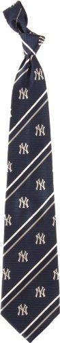 Eagles Wings New York Yankees Striped Silk Tie ()