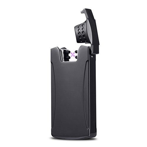 Kivors Arc Lighter Usb Rechargeable Windproof Dual Arc