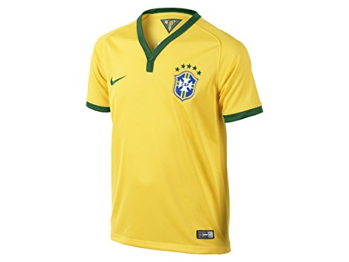 2014-15 Brazil Home World Cup Football Shirt Mens Large