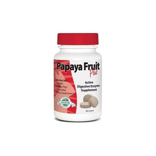 Papaya Fruit Plus Tablets (90 tabs) by Oxbow Animal Health