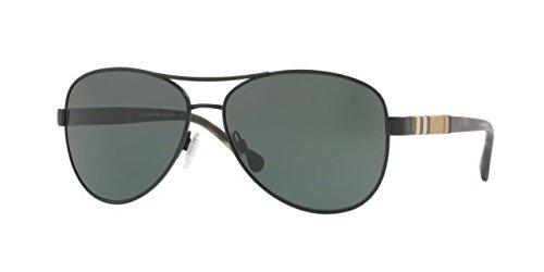 Burberry Women's 0BE3080 Matte Green/Grey Green One Size