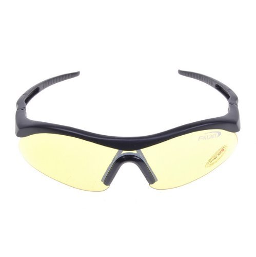Yellow Sport kite surfing cycling driving shooting airsoft hunting paintball Safety UV-100 Glasses Protective Goggle