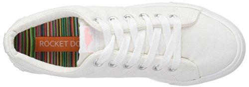 Women Dog Campo Sneaker White Fashion Canvas Rocket 8a OBqF5xwS