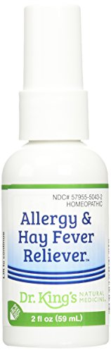 Dr. King's Natural Medicine Allergy and Hay Fever Reliever, 2 Fluid Ounce