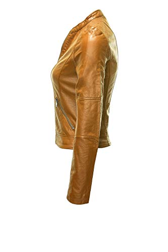 Curry Leather Vmeurope Jacket Favo Thai Faux Femme Moda IP Blouson Vero pRIqvg