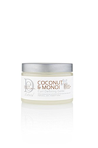 Design Essentials Natural Curl Defining Gelee-Lightweight Defined Soft Luminous Frizz-Free Curls w/Great Hold-Coconut & Monoi Collection, 12oz. (Best Product For Natural Curls)