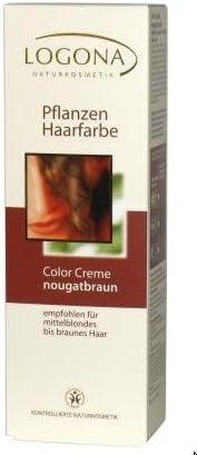 Logona Tinte vegetal para el cabello color crema – marrón ...
