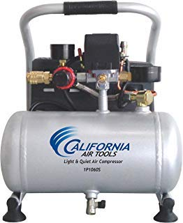 California Air Tools CAT-1P1060S Light & Quiet Portable Air Compressor, Silver (2-(Pack)) by CaliforniaAirTools1231