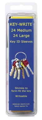 Key-Write Id Sleeves Sleeves Are Colored Heat by Key-Write