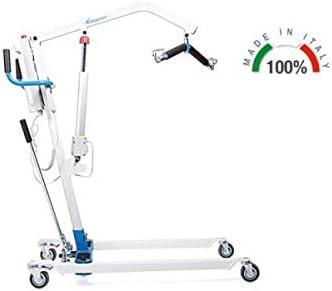 Grua electrica hasta 135 kg con arnes incluido. motor linak ...