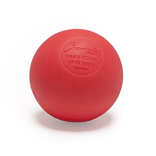 Lacrosse Ball - NCAA NFHS Certified - Red