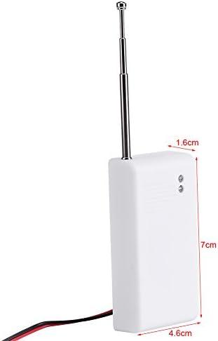 Alarma del agua del sótano Alarma cableada del desbordamiento accionado por batería Sensor Detector de la fuga del agua Alarma de la seguridad casera