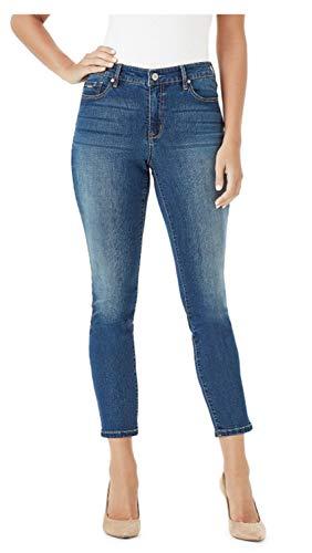 (Nine West Gramercy Skinny Ankle Jean (8, Nereid))