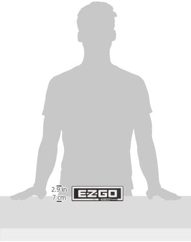 EZGO 71037G01 EZGO//A Textron Company Bright Silver Finish