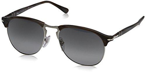 Persol Mens Sunglasses (PO8649) Horn/Green Acetate - Polarized - - Po8649s