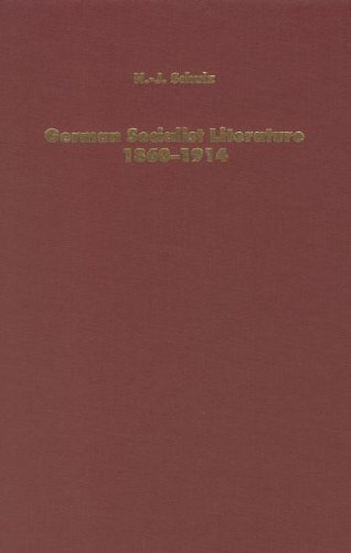 German Socialist Literature 1860-1914 Predicaments of Criticism (Literary Criticism in Perspective)