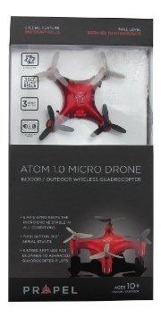 Propel Atom 1.0 Micro Drone Wireless Quadrocopter – Red