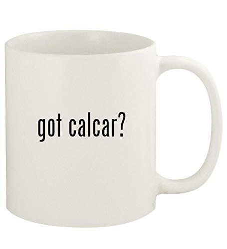 got calcar? - 11oz Ceramic White Coffee Mug Cup, White ()